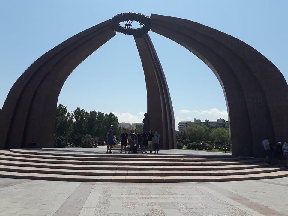 Centre ville de Bishkek (par Anne-Lise Cabanat)