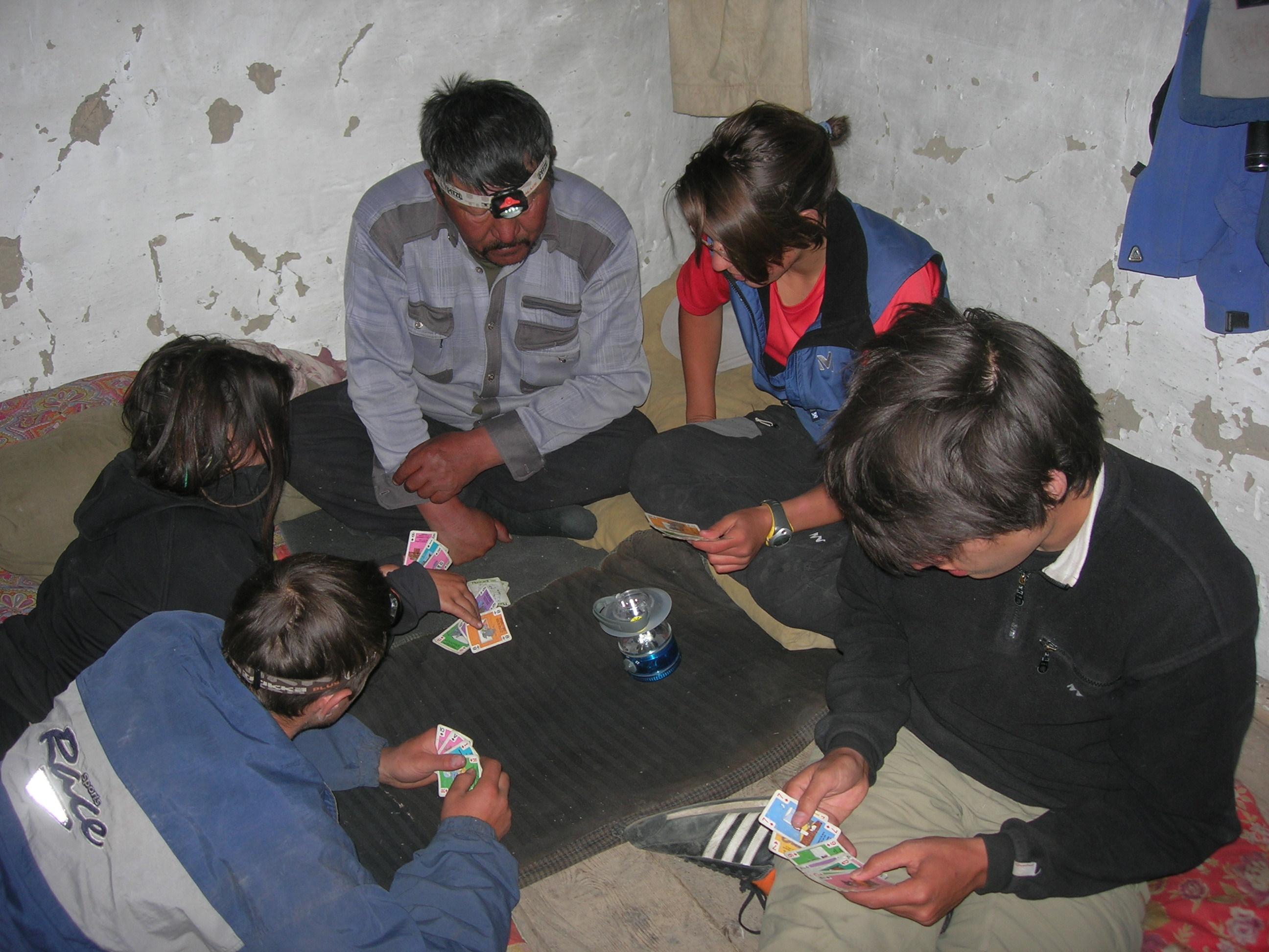 Soirée cartes